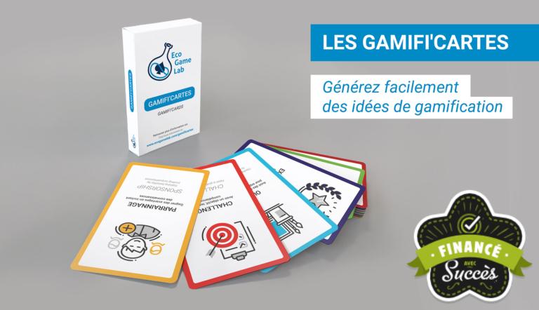 Boitier et cartes Gamifi'cartes