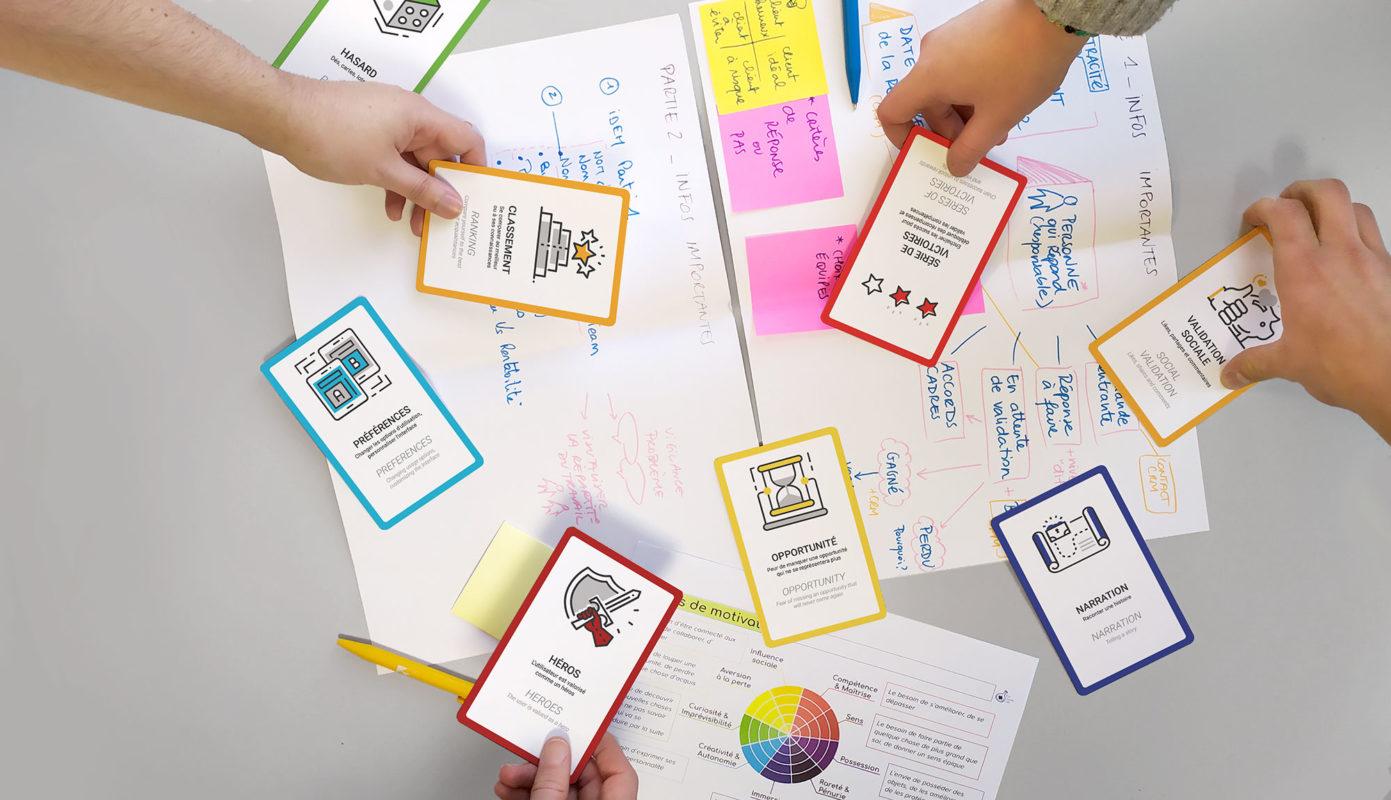 Gamifi'cartes pendant un atelier